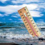 термометр в море